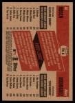 2002 Topps Heritage Then & Now #8 TN Al Rosen / Alex Rodriguez  Back Thumbnail