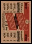 2002 Topps Heritage Then & Now #9 TN Robin Roberts / Randy Johnson  Back Thumbnail