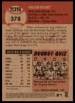 2002 Topps Heritage #378  Wilson Betemit  Back Thumbnail