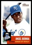 2002 Topps Heritage #403  Angel Berroa  Front Thumbnail