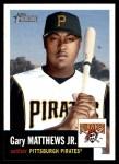 2002 Topps Heritage #419  Gary Matthews Jr.  Front Thumbnail