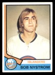 1974 Topps #123  Bob Nystrom  Front Thumbnail