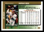 1997 Topps #12  Jim Kelly  Back Thumbnail