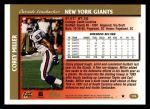 1997 Topps #176  Corey Miller  Back Thumbnail