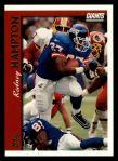 1997 Topps #202  Rodney Hampton  Front Thumbnail
