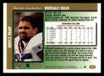 1997 Topps #372  Bryce Paup  Back Thumbnail