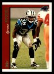 1997 Topps #381  Tyrone Poole  Front Thumbnail