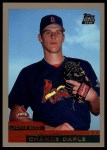 2000 Topps Traded #9 T Chance Caple  Front Thumbnail