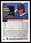 2000 Topps Traded #42 T Junior Zamora  Back Thumbnail