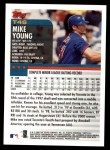 2000 Topps Traded #46 T Michael Young  Back Thumbnail