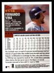 2000 Topps Traded #116 T Fernando Vina  Back Thumbnail