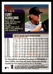 2000 Topps Traded #123 T Curt Schilling  Back Thumbnail