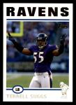 2004 Topps #62  Terrell Suggs  Front Thumbnail