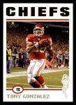 2004 Topps #176  Tony Gonzalez  Front Thumbnail