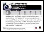 2004 Topps #237  Jeremy Shockey  Back Thumbnail