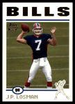 2004 Topps #380  J.P. Losman  Front Thumbnail