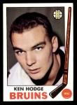 1969 Topps #27  Ken Hodge  Front Thumbnail