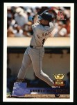 1996 Topps #132  Garret Anderson  Front Thumbnail