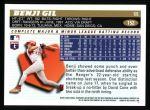 1996 Topps #152  Benji Gil  Back Thumbnail