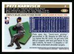1996 Topps #333  Pete Harnisch  Back Thumbnail