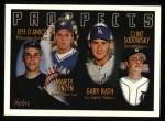 1996 Topps #429  Jeff D'Amico / Marty Janzen / Gary Rath / Clint Sodowsky  Front Thumbnail