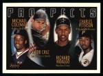 1996 Topps #438  Marco Coleman / Jacob Cruz / Richard Hidalgo / Charles Peterson  Front Thumbnail
