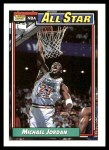 1992 Topps #115   -  Michael Jordan All-Star Front Thumbnail