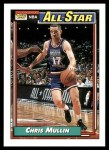 1992 Topps #120   -  Chris Mullin All-Star Front Thumbnail
