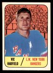 1967 Topps #88  Vic Hadfield  Front Thumbnail