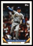 1993 Topps #44  Kevin Seitzer  Front Thumbnail