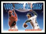 1993 Topps #411   -  Lee Smith  / Dennis Eckersley All-Star Front Thumbnail