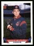 1993 Topps #571  Dave Mlicki  Front Thumbnail
