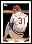 1993 Topps #382  Tim Belcher  Front Thumbnail