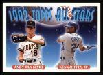 1993 Topps #405   -  Ken Griffey Jr. / Andy Van Slyke All-Star Front Thumbnail