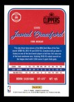 2016 Donruss #28  Jamal Crawford  Back Thumbnail
