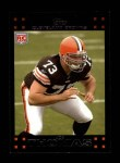 2007 Topps #392  Joe Thomas  Front Thumbnail