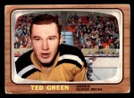 1966 Topps #37  Ted Green  Front Thumbnail