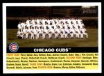 2005 Topps Heritage #11   Chicago Cubs Team Front Thumbnail