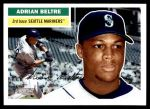 2005 Topps Heritage #107  Adrian Beltre  Front Thumbnail