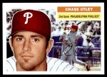 2005 Topps Heritage #156  Chase Utley  Front Thumbnail