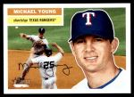 2005 Topps Heritage #375  Michael Young  Front Thumbnail
