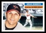 2005 Topps Heritage #442  Brian Roberts  Front Thumbnail