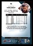 2017 Upper Deck #46  Semyon Varlamov  Back Thumbnail