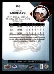 2017 Upper Deck #296  Gabriel Landeskog  Back Thumbnail