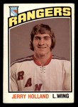 1976 O-Pee-Chee NHL #315  Jerry Holland  Front Thumbnail