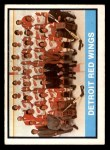 1974 O-Pee-Chee NHL #267   Red Wings Team Front Thumbnail