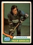 1974 O-Pee-Chee NHL #340  Paulin Bordeleau  Front Thumbnail