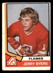 1974 O-Pee-Chee NHL #273  Jerry Byers  Front Thumbnail