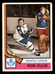 1974 O-Pee-Chee NHL #12  Ron Ellis  Front Thumbnail
