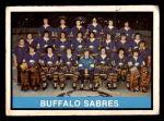 1974 O-Pee-Chee NHL #337   Sabres Team Front Thumbnail